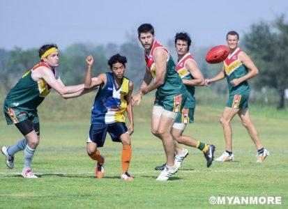 "AUSTRALIAN RULES FOOTBALL INTERNATIONAL – ""THE BATTLE OF THE BIRDS"""