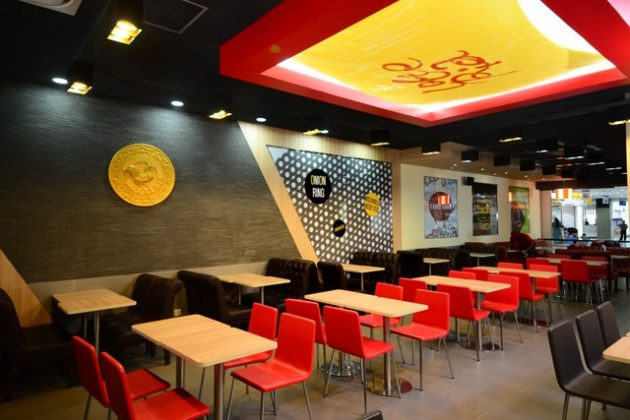 Lotteria – Fast Food in a Cool Setting