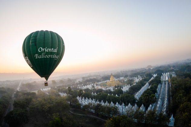 Oriental Ballooning takes to the Skies of Mandalay