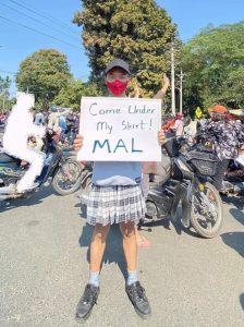 The creative ways Myanmar protestors makes their voices heard