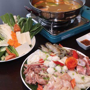 Vietnamese Hot Pot Set @ The Lantern