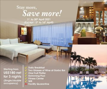 Staycations, Workcations & Promotions for April