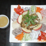 Cold seafood & Vegetables Salad in Mustard sauce.jpg